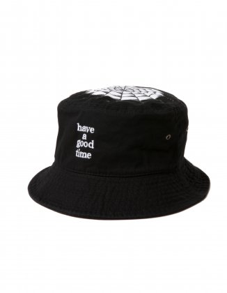 have a good time x SSTP BUCKET HAT BLACK - have a good time ff109b95d0d