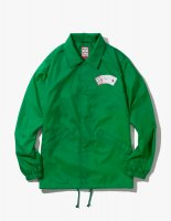 PLAYING CARD COACH JACKET GREEN