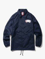 PLAYING CARD COACH JACKET NAVY