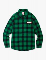 SHADOW FLANNEL SHIRTS GREEN