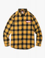 SHADOW FLANNEL SHIRTS YELLOW