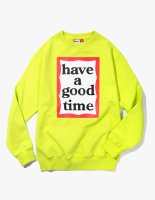 <img class='new_mark_img1' src='//img.shop-pro.jp/img/new/icons50.gif' style='border:none;display:inline;margin:0px;padding:0px;width:auto;' />2018SS FRAME CREWNECK LIME