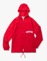 COLLEGE ZIP-UP JACKET RED