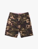 CHINO SHORTS WOOD LAND CAMO