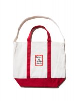 <img class='new_mark_img1' src='//img.shop-pro.jp/img/new/icons8.gif' style='border:none;display:inline;margin:0px;padding:0px;width:auto;' />have a good time x SSTP 2WAY TOTE BAG WHITE/RED