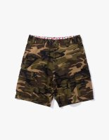 6 POCKET SHORTS BRIGHT CAMO