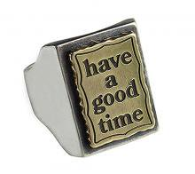 have a good time frame LOGO RING