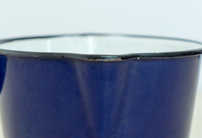 KOCKUMS(コクムス)/ ホーローのミルクパン(青)/ スウェーデン / ビンテージ / K0102  画像04