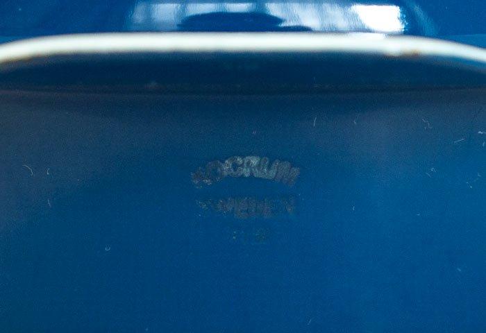 KOCKUMS(コクムス)/ 青色のホーロー製キャセロール / スウェーデン / ビンテージ / K0111  画像03