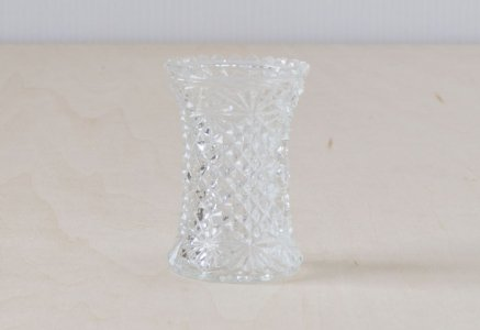 北欧で使われていた、ガラスの花器/ ビンテージ / I0132