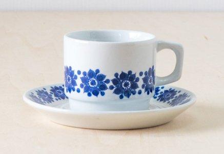 Figgjo(フィッギオ)/ 白磁のカップ&ソーサー / ノルウェイ / ビンテージ / T0401