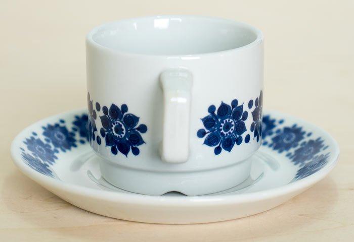 Figgjo(フィッギオ)/ 白磁のカップ&ソーサー / ノルウェイ / ビンテージ / T0402  画像03