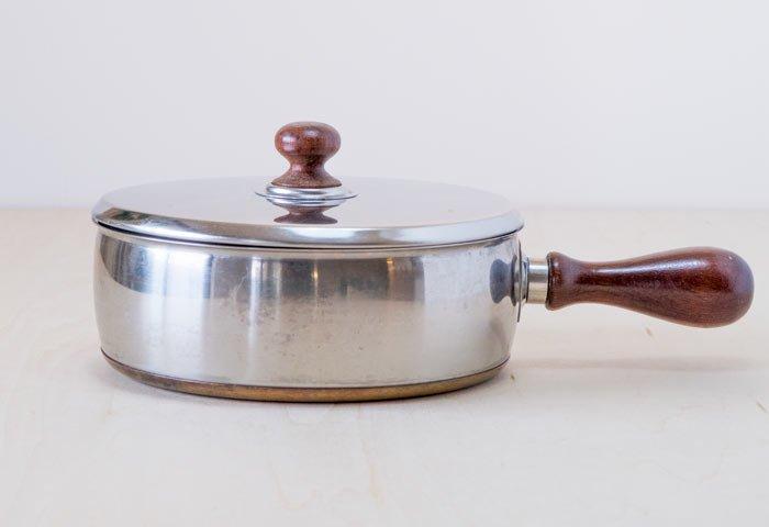 GENSE(ゲンセ)/ チークの取手の片手鍋 / スウェーデン / ビンテージ / K0074 画像