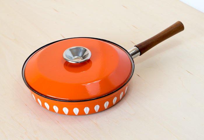 CATHERINEHOLM(キャサリンホルム)/ LOTUS(ロータス)- 片手鍋(オレンジ)/ ノルウェー / ビンテージ / K0082  画像02