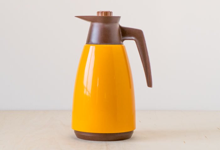 JUNE / プラスチック製魔法瓶(オレンジ)/ スウェーデン / ビンテージ / K0086 画像
