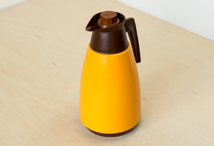 JUNE / プラスチック製魔法瓶(オレンジ)/ スウェーデン / ビンテージ / K0086  画像02