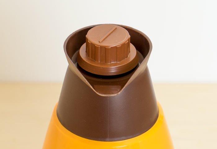 JUNE / プラスチック製魔法瓶(オレンジ)/ スウェーデン / ビンテージ / K0086  画像03