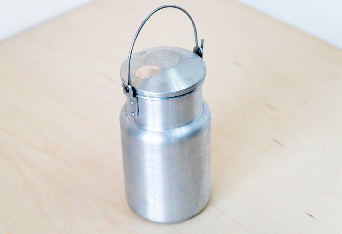 北欧で使われていた、ミルク缶 / ビンテージ / K0099  画像02