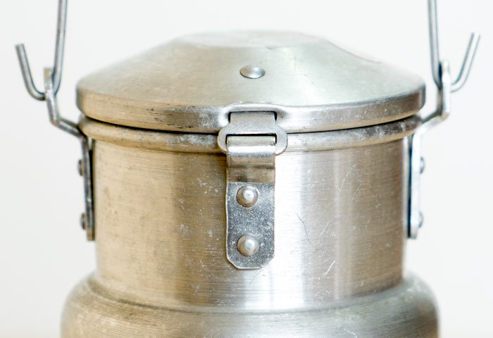 北欧で使われていた、ミルク缶 / ビンテージ / K0099  画像04