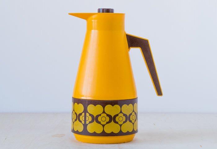 スウェーデン製のプラスチック魔法瓶 / ビンテージ / K0104 画像