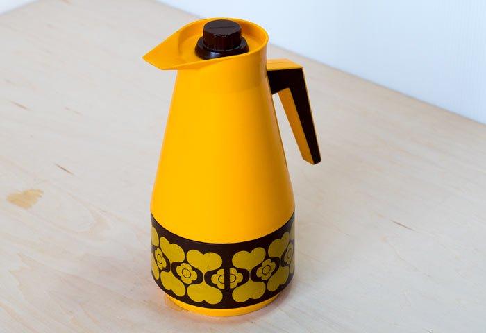 スウェーデン製のプラスチック魔法瓶 / ビンテージ / K0104  画像02