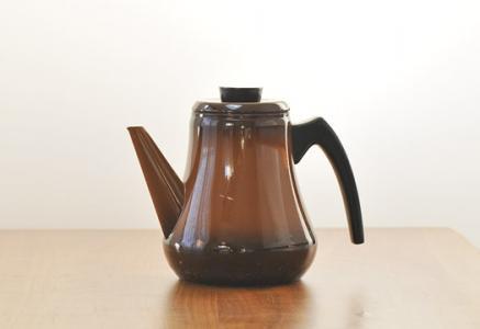 ALU/ホーローケトル(茶)/スウェーデン/ビンテージ