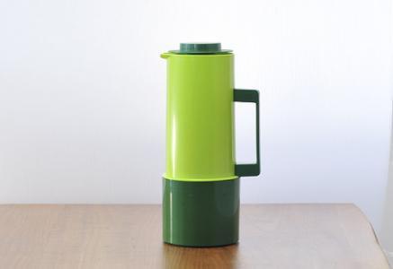 JUNE/プラスチック製の魔法瓶(緑)/スウェーデン/ビンテージ