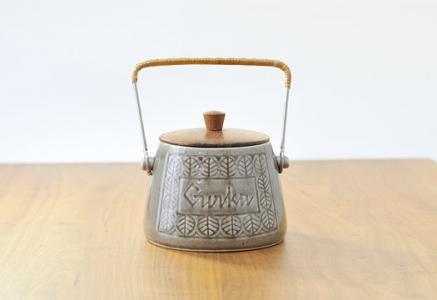 Deco Halsingborg/陶器のピクルス入れ/スウェーデン/ビンテージ