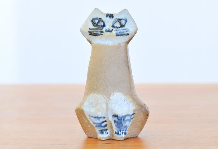 リサ ラーソン(Lisa Larson)/グスタフスベリ/猫の置物〜ヴィンテージ /スウェーデン 画像