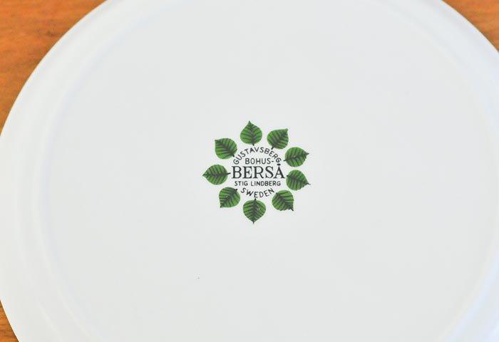 GUSTAVSBERG(グスタフスベリ)/ベルサ(BERSA)ーラウンドプレート 18cm/スウェーデン/ビンテージ  画像04