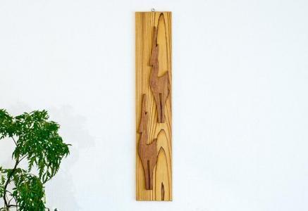 北欧で使われていた、木製の壁飾り