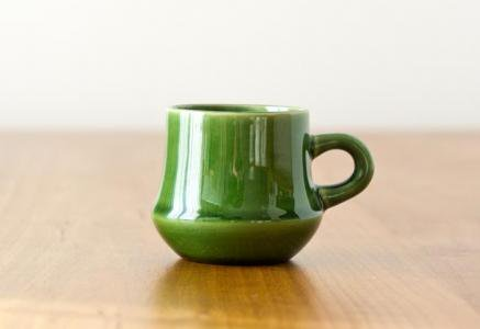 スウェーデン製の深緑のグロッグ用カップ(小)エスプレッソにも/ビンテージ
