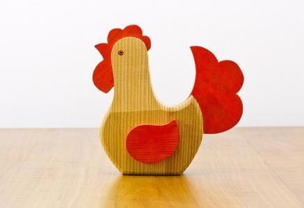 北欧で使われていた、イースター用の鳥のオブジェ(飾り)