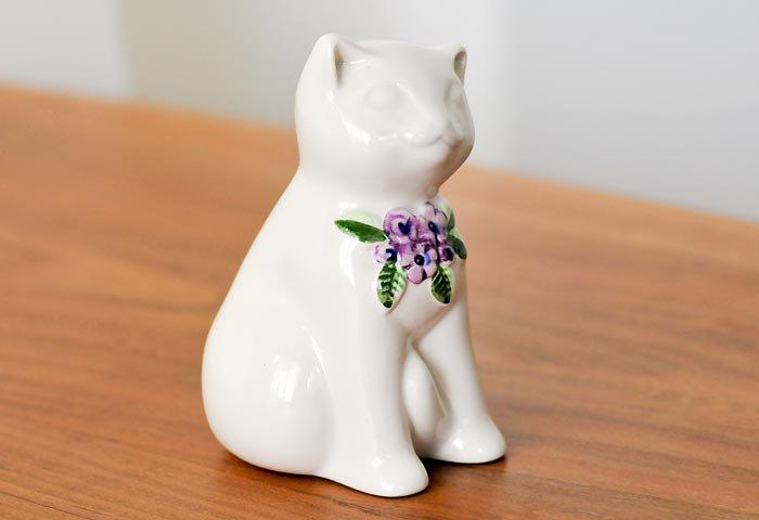 DECO(デコ)/陶器の猫の置物/スウェーデン  画像02