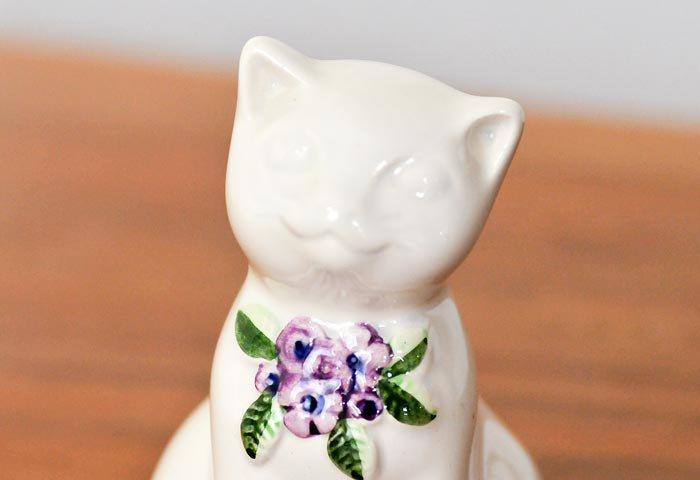 DECO(デコ)/陶器の猫の置物/スウェーデン  画像03