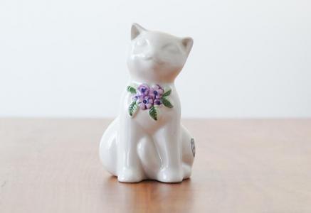 DECO(デコ)/陶器の猫の置物/スウェーデン