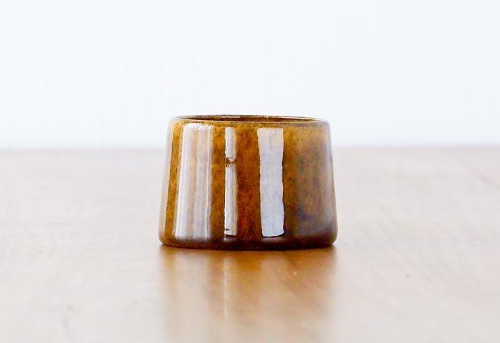 HOGANAS(ホガナス)/陶器のエッグスタンド/スウェーデン/ビンテージ 画像