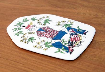 FIGGJO(フィッギオ)/Mons og Mille ー陶器のチーズボード/ノルウェー/ビンテージ