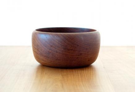 北欧で使われていた、チーク材のボウル