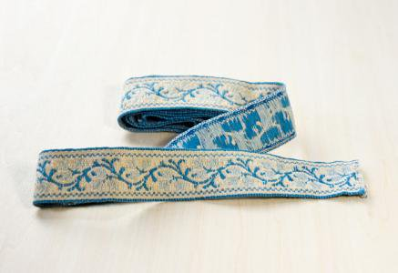 北欧で使われていた、刺繍の紐(リボン)/ビンテージ