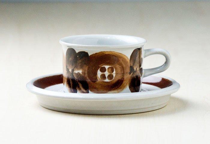 ARABIA(アラビア)/ROSMARIN(ロスマリン)ーカップ&ソーサー(小)/フィンランド/ビンテージ 画像