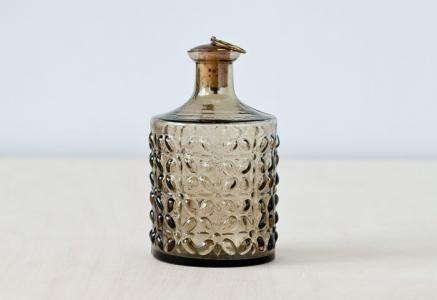 SKRUF/ガラスボトル(コルク栓付き)/スウェーデン/ビンテージ
