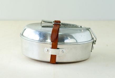Trangia(トランギア)/キャンプ用の片手鍋とお皿のセット/スウェーデン/ビンテージ/K0027