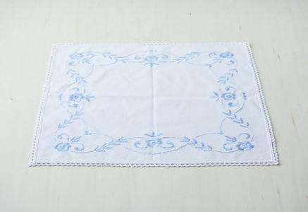 北欧で使われていた、刺繍のセンタークロス/ビンテージ/F0088