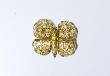 北欧で使われていた、蝶のブローチ/ビンテージ/S0042