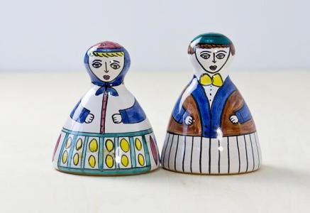 elbogen keramik(エルボーゲン ケラミック)釜/ソルト&ペッパー/スウェーデン/ビンテージ/T0229