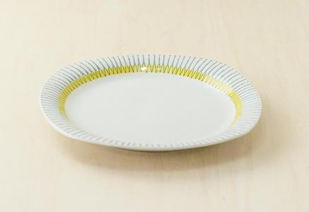 Upsala Ekeby(ウプサラエクビィ)/PIGG(ピッグ)ーディナープレート/スウェーデン/ビンテージ/T0300