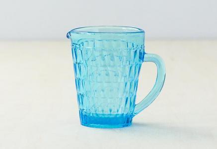 北欧で使われていた、ガラスのクリーマー/ビンテージ/T0295