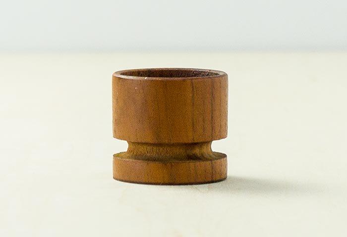 北欧で使われていた、チーク材のエッグスタンド/ビンテージ/T0302 画像