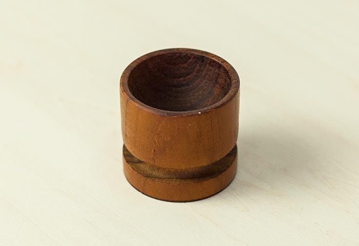 北欧で使われていた、チーク材のエッグスタンド/ビンテージ/T0302  画像03